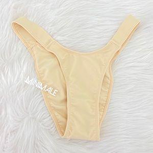 Minimale Animale high waisted Bikini Bottom nude L